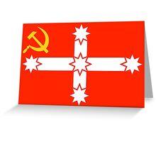 The true Eureka Flag! Greeting Card