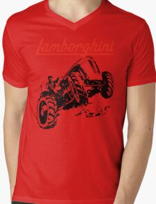 tractor shirt Mens V-Neck T-Shirt