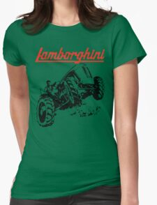 tractor shirt Womens Fitted T-Shirt