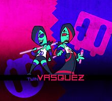 Twin Vasquez by RebelTaxi