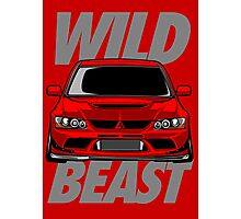 Lancer Evolution Wild Beast Photographic Print