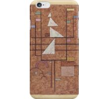 Kandinsky - Gelber Rand (Yellow Border) iPhone Case/Skin