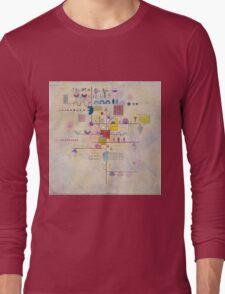 Kandinsky - Graceful Ascent Long Sleeve T-Shirt