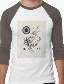 Kandinsky - Blue 1922  Men's Baseball ¾ T-Shirt