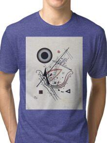 Kandinsky - Blue 1922  Tri-blend T-Shirt