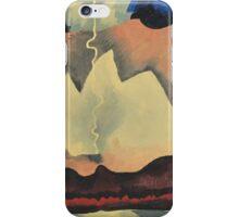 Kandinsky - Thunder Shower iPhone Case/Skin