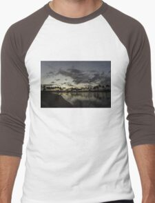 Hawaiian Twilight - Dreaming of Long Tropical Evenings Men's Baseball ¾ T-Shirt