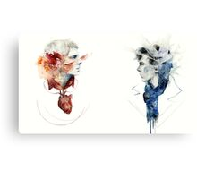 Heart and Mind Canvas Print