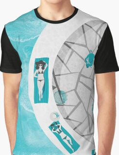 Summer at the Passetto Graphic T-Shirt