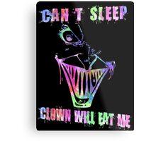 Can't Sleep, Clown Will Eat Me - Simpsons Metal Print