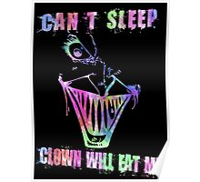 Can't Sleep, Clown Will Eat Me - Simpsons Poster