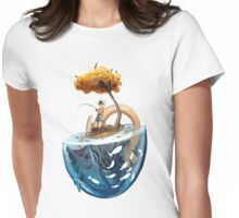 Catching Gravity Womens Fitted T-Shirt