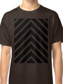 Black Blue Chevron Classic T-Shirt