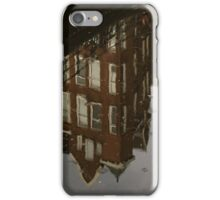 Amsterdam - Moody Canal Reflection in the Rain iPhone Case/Skin