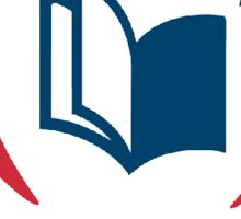 America Reads Logo Sticker