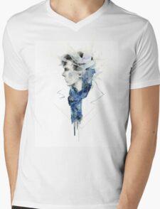 Sherlock Mind Palace Mens V-Neck T-Shirt