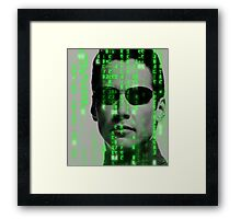 The Matrix - Neo Framed Print