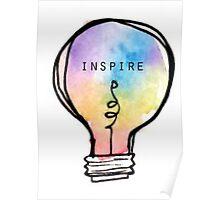 Inspire Lightbulb Poster