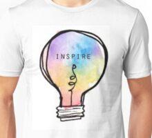 Inspire Lightbulb Unisex T-Shirt