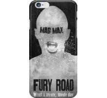 Nux Fury Road iPhone Case/Skin