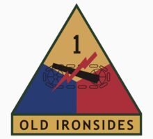 1st Armored Division (United States) Kids Tee