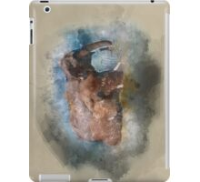 Badende Elefanten - Elephants in watercolour iPad Case/Skin