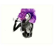 Purple Drinks Art Print