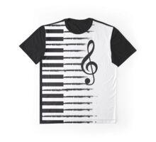 Piano Keys Graphic T-Shirt