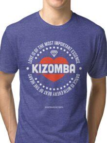 Love Kizomba Tri-blend T-Shirt