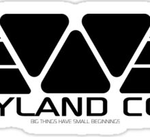 Weyland Corp. Sticker