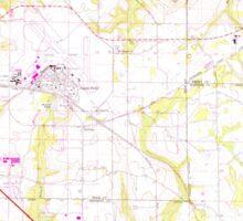 USGS TOPO Map Alabama AL Midland City 304551 1969 24000 Sticker