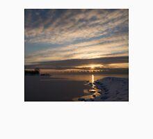New Day on Ice - Sunrise on Lake Ontario  Unisex T-Shirt