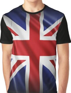 Union Jack Patriotic Flag Graphic T-Shirt