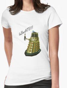 Drunk Dalek Womens Fitted T-Shirt