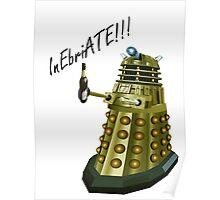 Drunk Dalek Poster