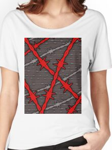 Barbed Women's Relaxed Fit T-Shirt
