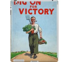 Dig on for Victory iPad Case/Skin
