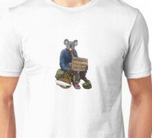 Homeless Koala Unisex T-Shirt