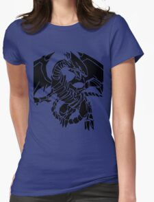 Blue Eyes Womens Fitted T-Shirt