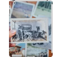 Vintage Photograph - Living Room with Monstera iPad Case/Skin