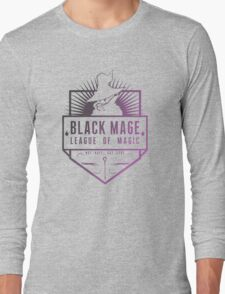 Black Mage  Long Sleeve T-Shirt