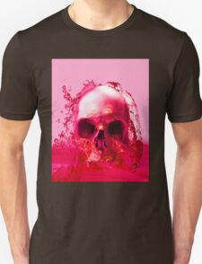 Red Skull in Water Unisex T-Shirt