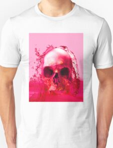 Red Skull in Water Unisex T-Shirt
