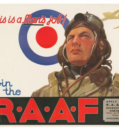 Join the R.A.A.F. Sticker