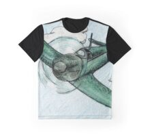 Goodbye Blue Sky Graphic T-Shirt