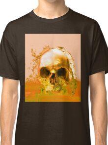 Golden Skull in Water Classic T-Shirt