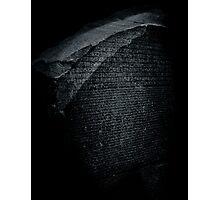 Block Cipher Photographic Print