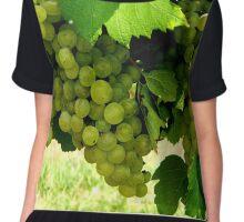 Green Grapes  ^ Chiffon Top