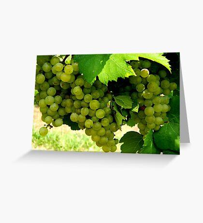 Green Grapes  ^ Greeting Card