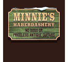 Minnie's Haberdashery Photographic Print